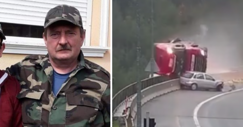 Búcsúzzunk a kamion balesetben meghalt Gyuri bácsitól!
