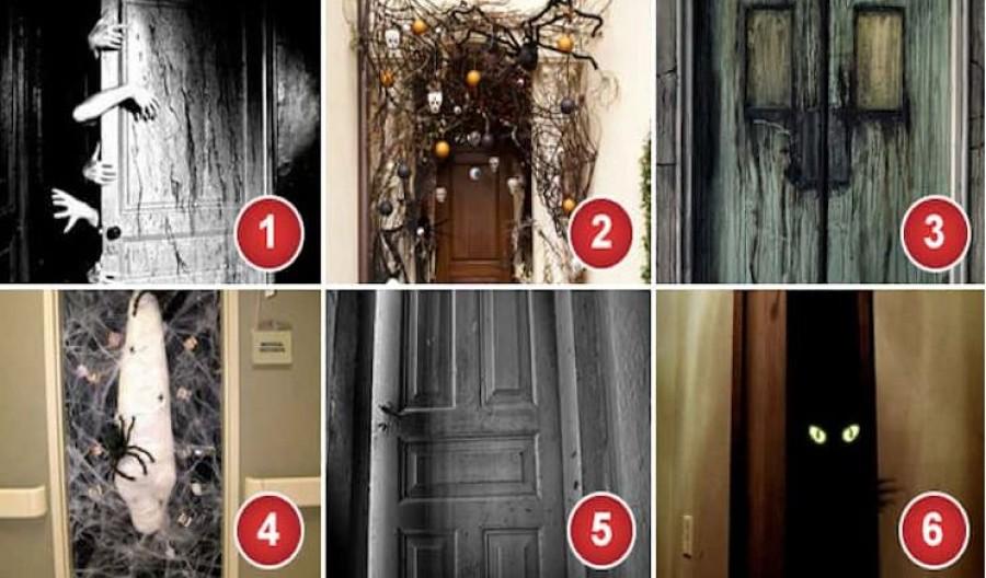 Melyik ajtón nem lépnél be semmiképp?