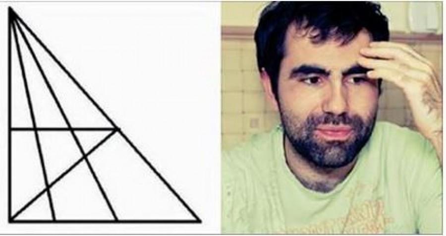 Azt mondják, hogy csak 120-as IQ fölött találsz 18 háromszöget az ábrán