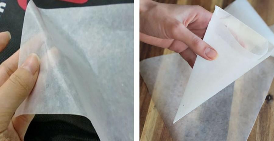 Itt a bizonyíték: a sütőpapír kincset ér!