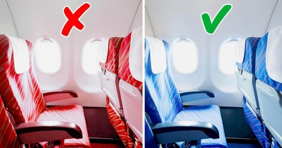 Ezért kék színűek az ülések minden repülőn