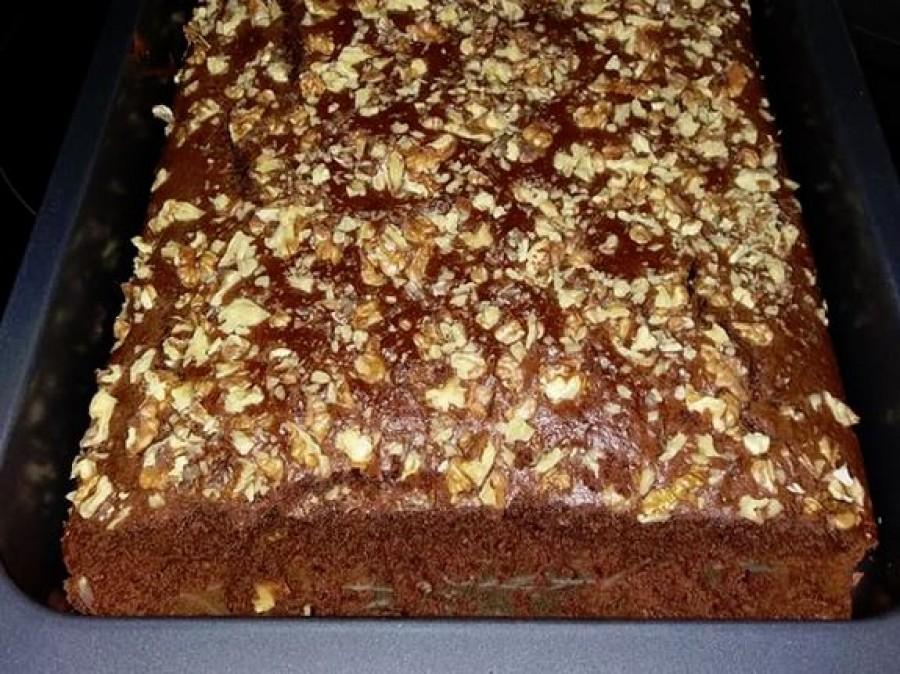 Amerikai süti, egyszerű kevert tészta, de az íze csodás!