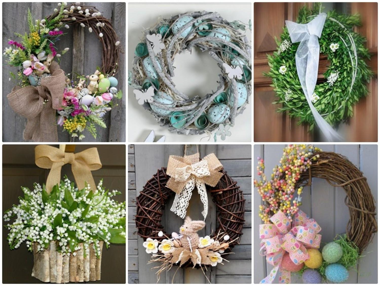 13 csodaszép húsvéti ajtódísz