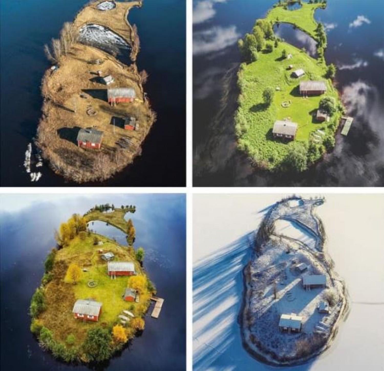 Egy kis sziget négy évszaka