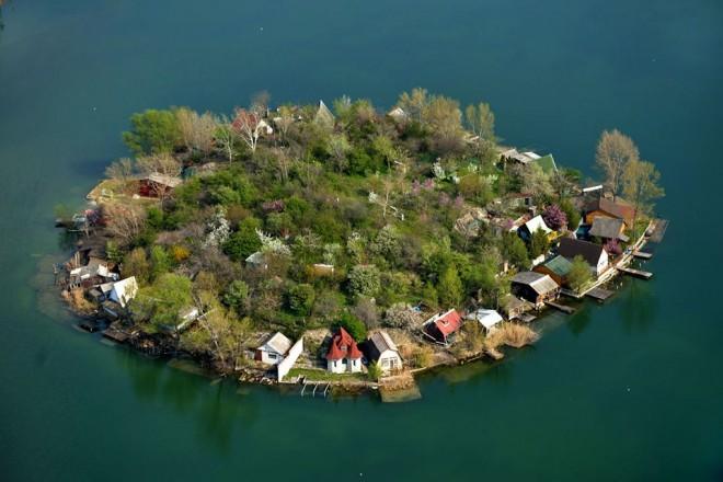 Mesébe illő kis sziget - EZ IS MAGYARORSZÁG!