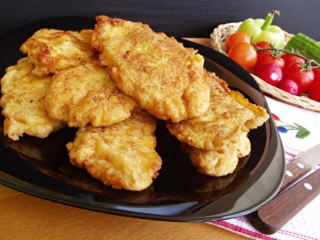 1 evőkanál mustár olyan isteni ízt ad a rántott húsnak, hogy azonnal a kedvenced lesz!