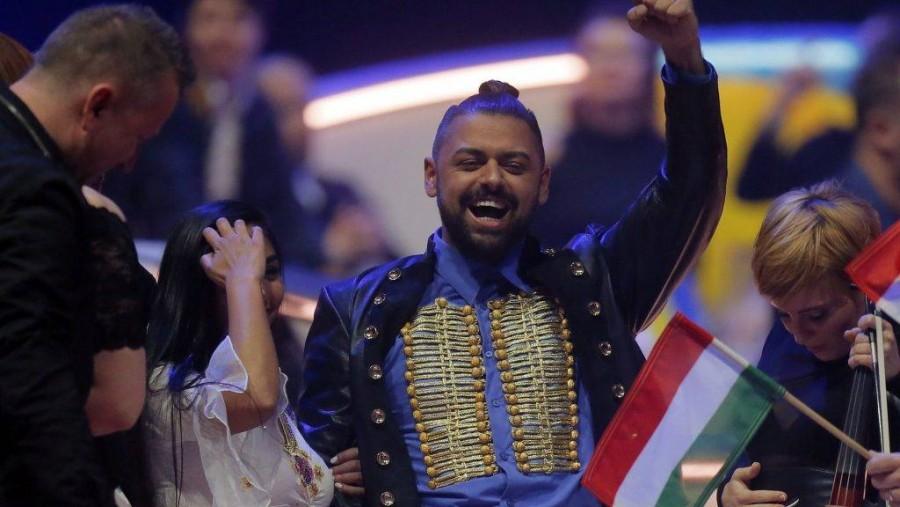 Nem fogod elhinni hányadik helyen áll Pápai Joci az Eurovízión!