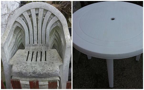 Nem kell kidobni a beszürkült műanyag székeket, asztalokat! Hófehérré varázsolható egyszerű házi módszerekkel!
