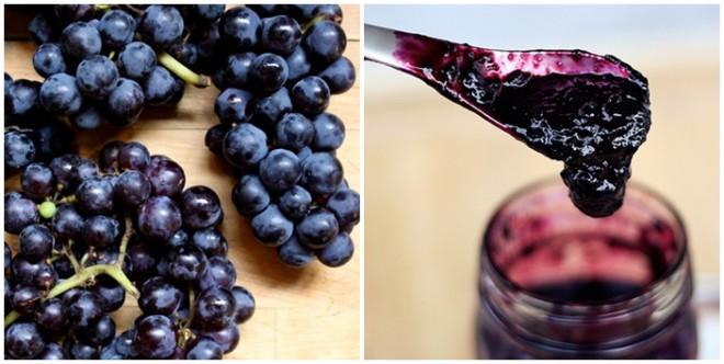 Szőlőlekvár egyszerűen! Bármilyen szőlőből készítheted!