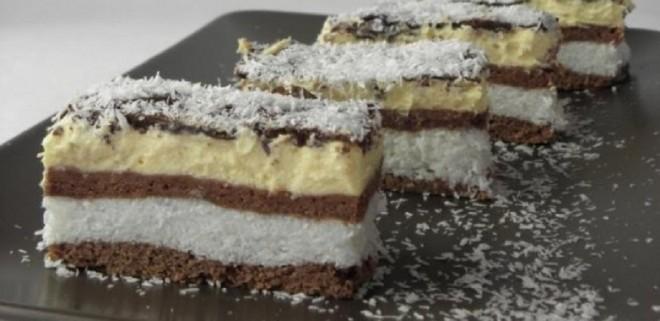 Kókuszhercegnő - egy nagyon finom süti, amit 30 perc alatt összeraksz!