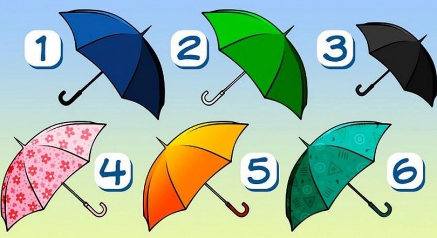 Válaszd azt az ernyőt, amit magaddal vinnél egy esős napon, és tudj meg magadról valami fontosat!