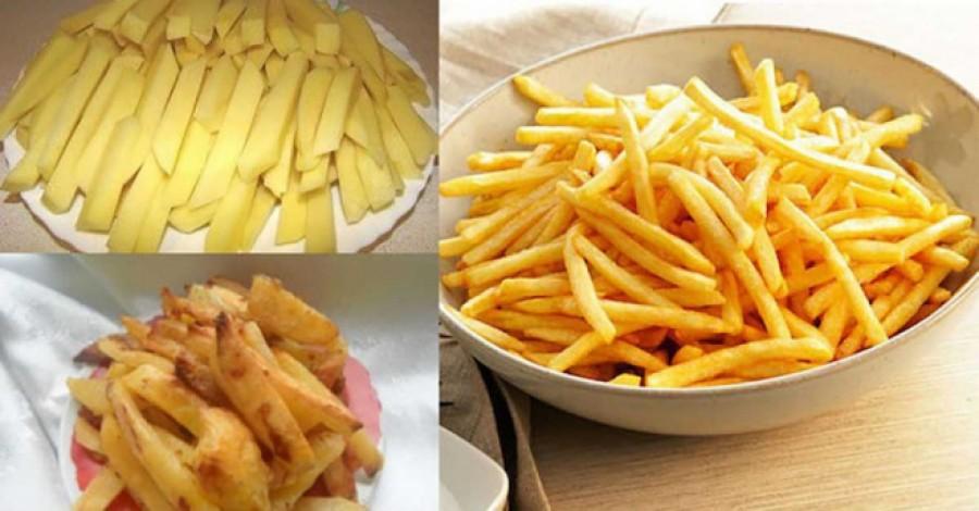 Így készül az isteni ropogós sültkrumpli úgy, hogy egy gramm olaj sem kell hozzá!