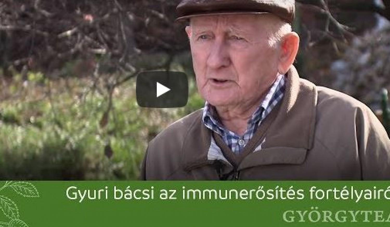 Szabó Gyuri bácsi szerint így kell erősíteni az immunrendszert